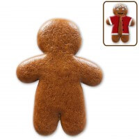 Gingerbread man to decorate by yourself, 20cm