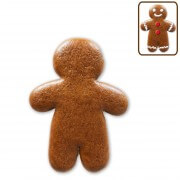 Mini gingerbread man blank, 7cm