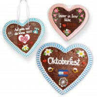 XXL gingerbread heart customizable with logo and text