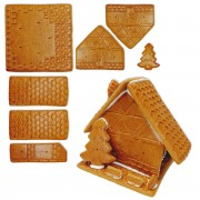 Gingerbread House Kit - Size L - For crafting and decorating