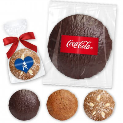 Large Elisenlebkuchen gingerbread single - incl. label