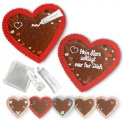 XXL Gingerbread heart 50cm Do-It-Yourself-Set