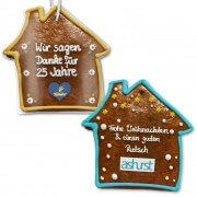 XXL Gingerbread houses flat, customized 50cm