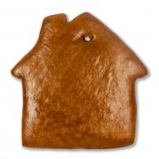 Gingerbread house blank, 12cm