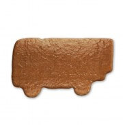 Semitrailer made of gingerbread to decorate, 27cm