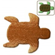 Gingerbread turtle blank, 12cm