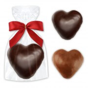 Choco gingerbread hearts single packed - various flavor