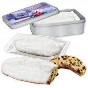 Christ-Stollen in gift box with promotional label, 750g