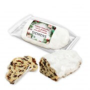 Stollen with Christmas label, 200g