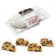 Christmas Stollen with free printable band, 200g