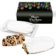 Marzipan Stollen without raisins in a printed box, 500g