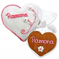 Gingerbread Heart Place Card Ramona