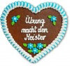 Uebung macht den Meister - Gingerbread Heart 23