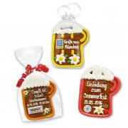 Packaging overview of gingerbread beer mug