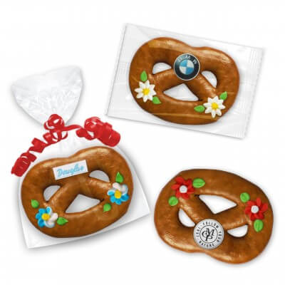 Packaging overview of the gingerbread pretzel