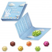 Chocolate spring flower - with promo folder