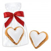 Cinammon-apple Heart Cookie single packed