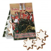 Cinnamon stars 30g incl. custom folding card