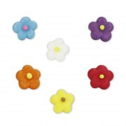 Candy decoration flowers small, 210 pieces