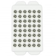 Candy decoration soccer balls, 48 pieces