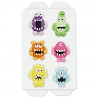 candy decoration monster, 6 pieces