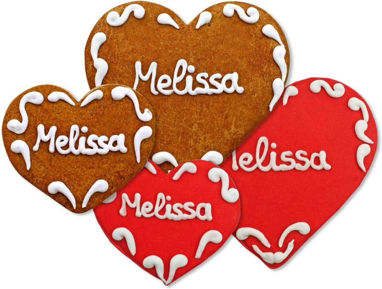 Gingerbread Heart Place Card Melissa