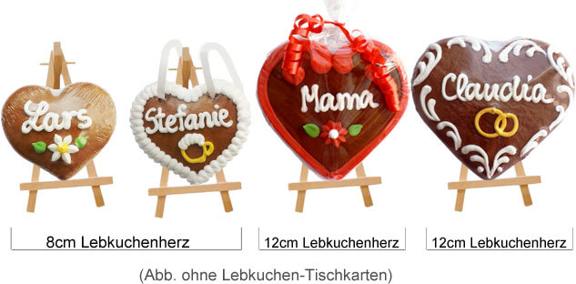 Example: Gingerbread Placment Card put on Holder