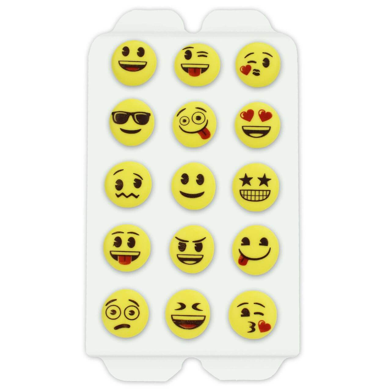 Candy decorations - Emojis, 15 pieces