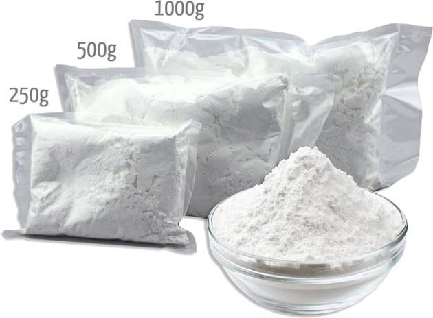 Sugar Icing Powder Sizes