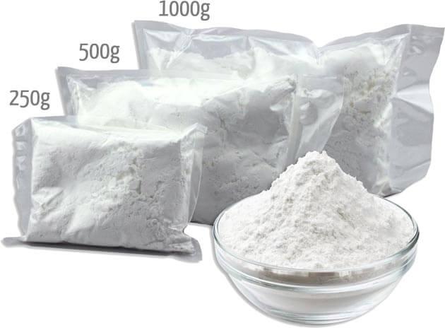 Zuckergusspulver Größen